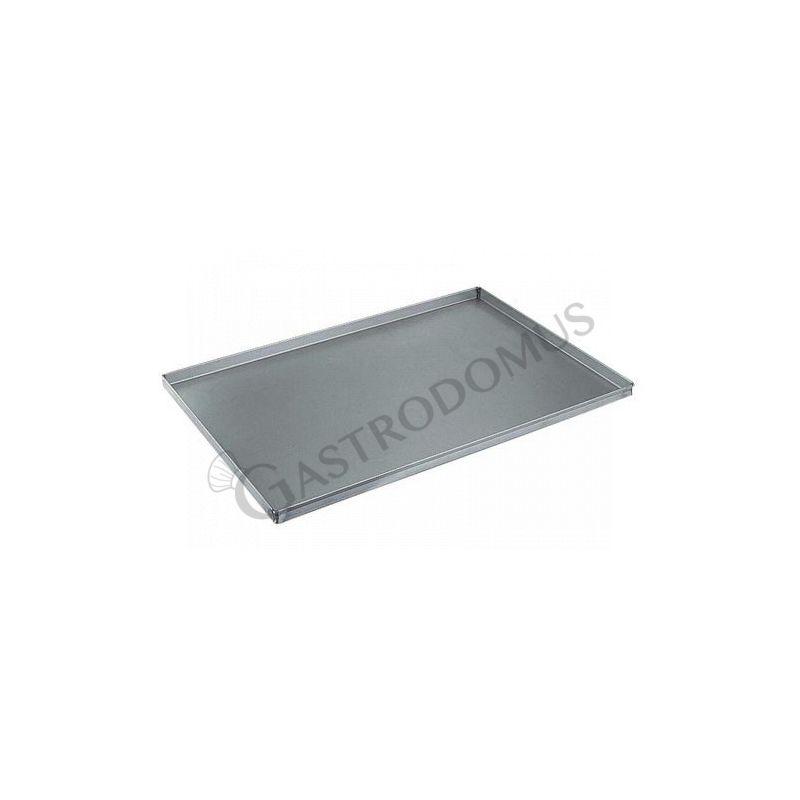 Backblech – quadratisch – Aluminium – 600 mm x 400 mm – H 40 mm