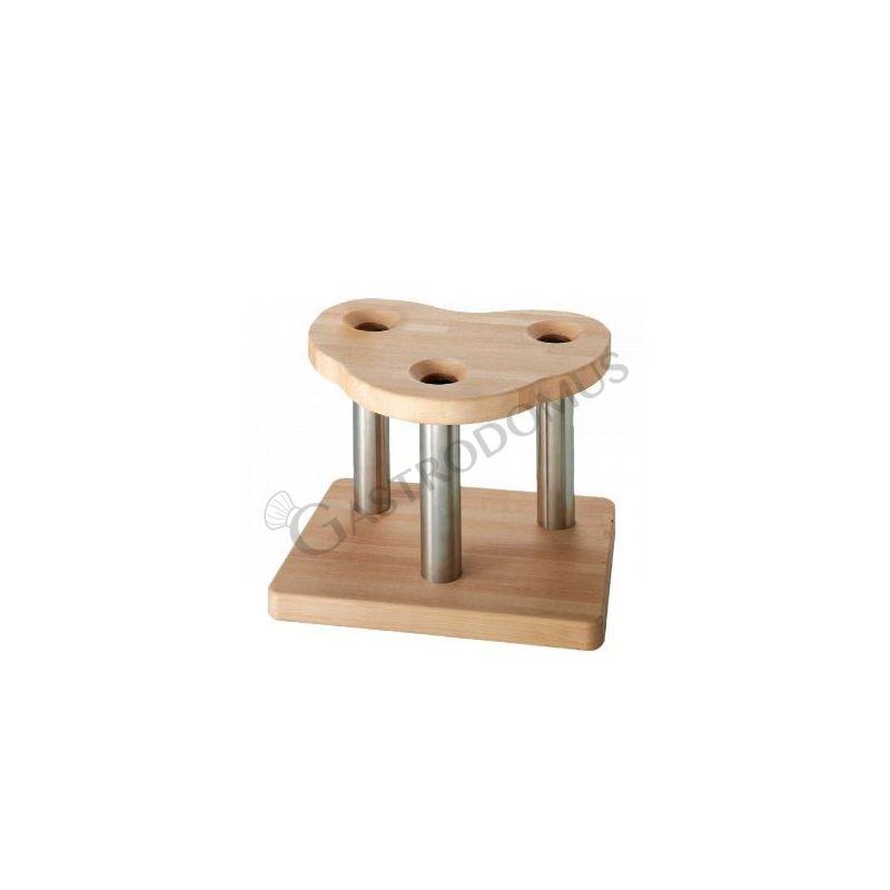 Holzgestell – 3 Plätze – Serie Modena