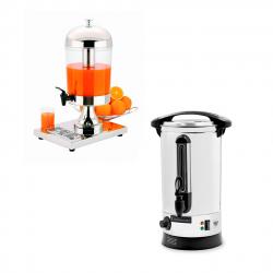 Wasserkocher und Getränkespender für den Gastronomiebetrieb