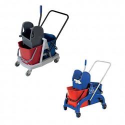 Reinigungswagen für Sauberkeit und Hygiene im Hotel