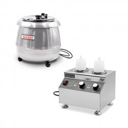 Suppenwärmer, Reiskocher und Speisenwärmer