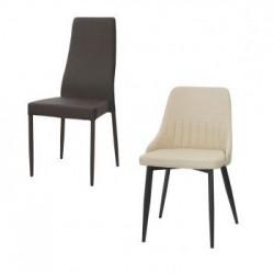Leder- und Kunstlederstühle: Online-Shop