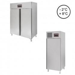 Gastronomie Kühlschränke mit Umluftkühlung und aus Edelstahl