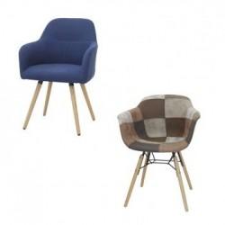 Stühle mit Stoffbezug für den Innenraum